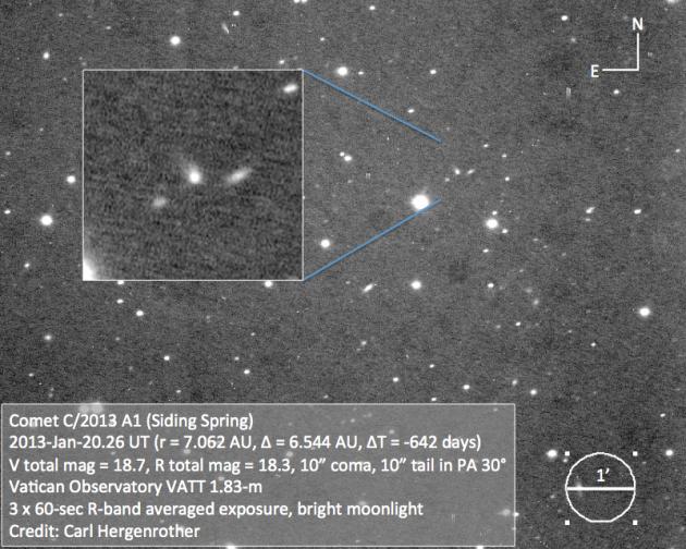 cometa c2013a1