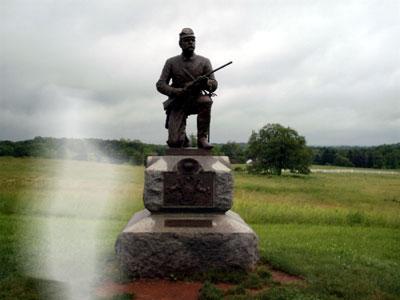 monumento gettysburg ghost