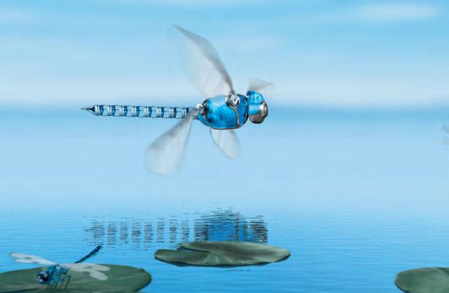 Elicottero E Libellula : Bionicopter la libellula meccanica