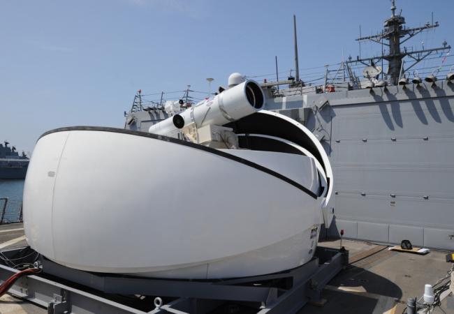 cannone laser US Navi