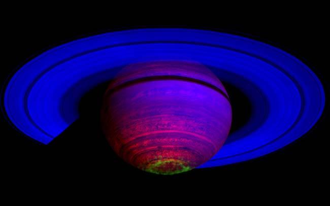 saturno aurora