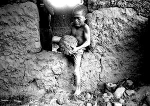 bambino miniera