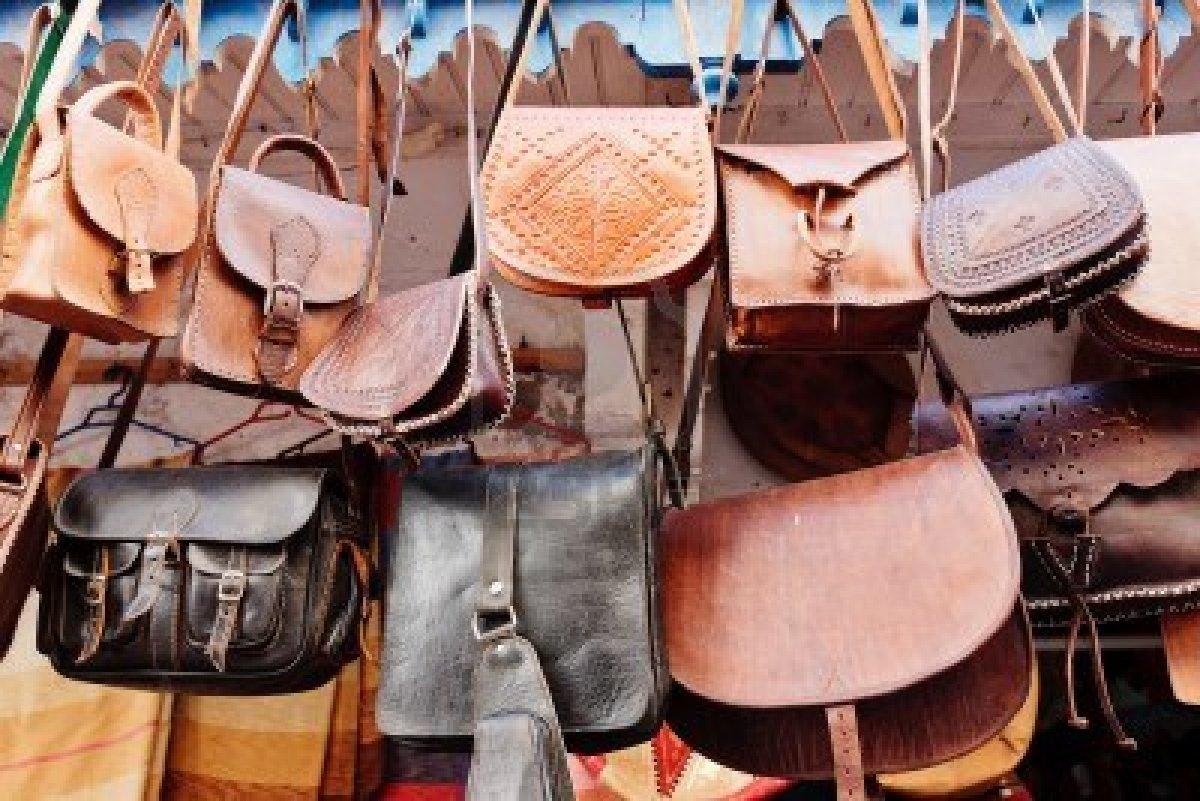 borse pelle mercato