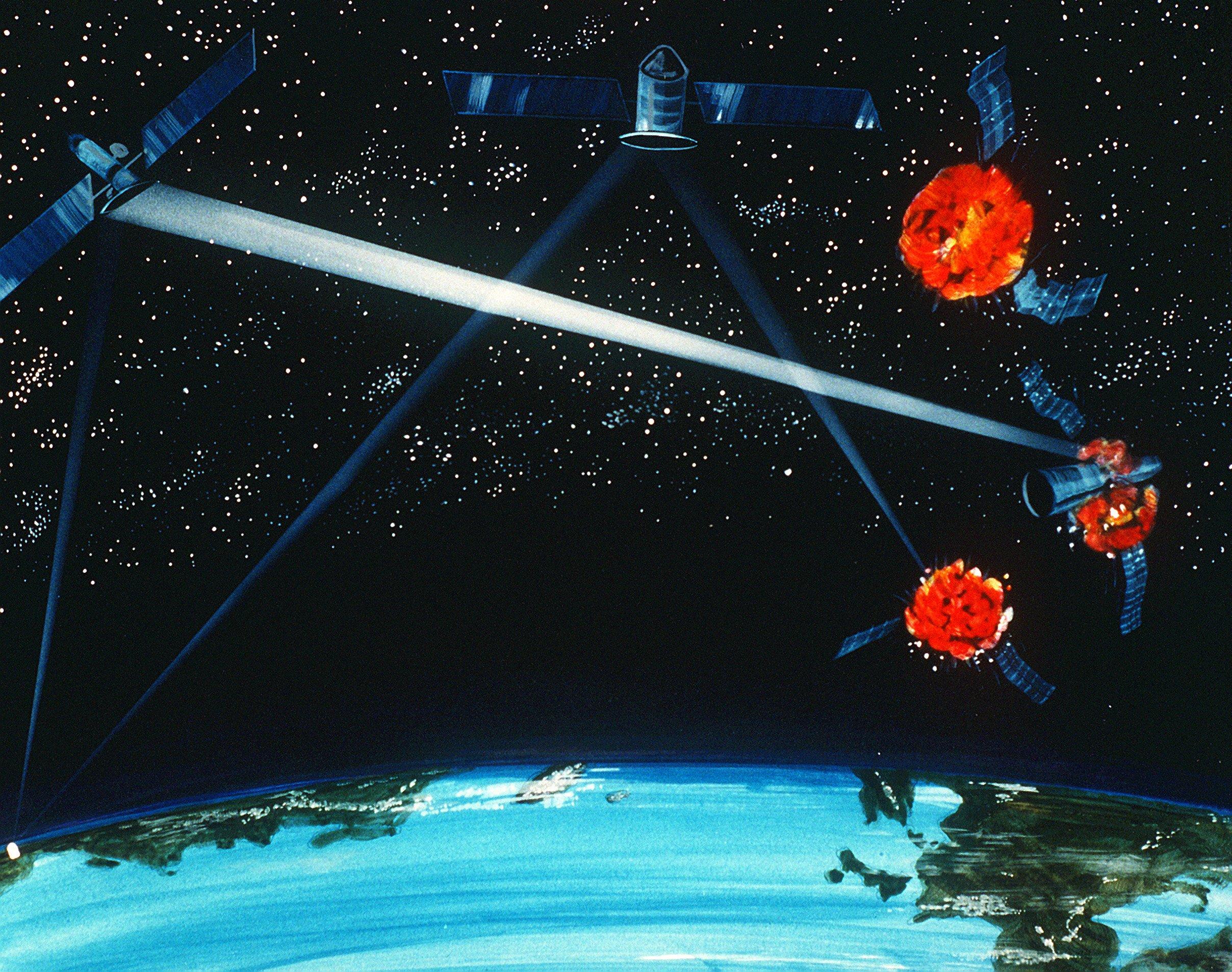 laser detriti spaziali