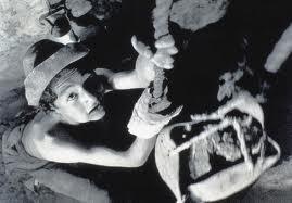 ragazzino miniera