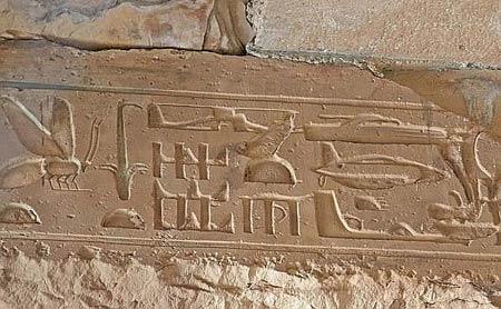 geroglifici velivoli