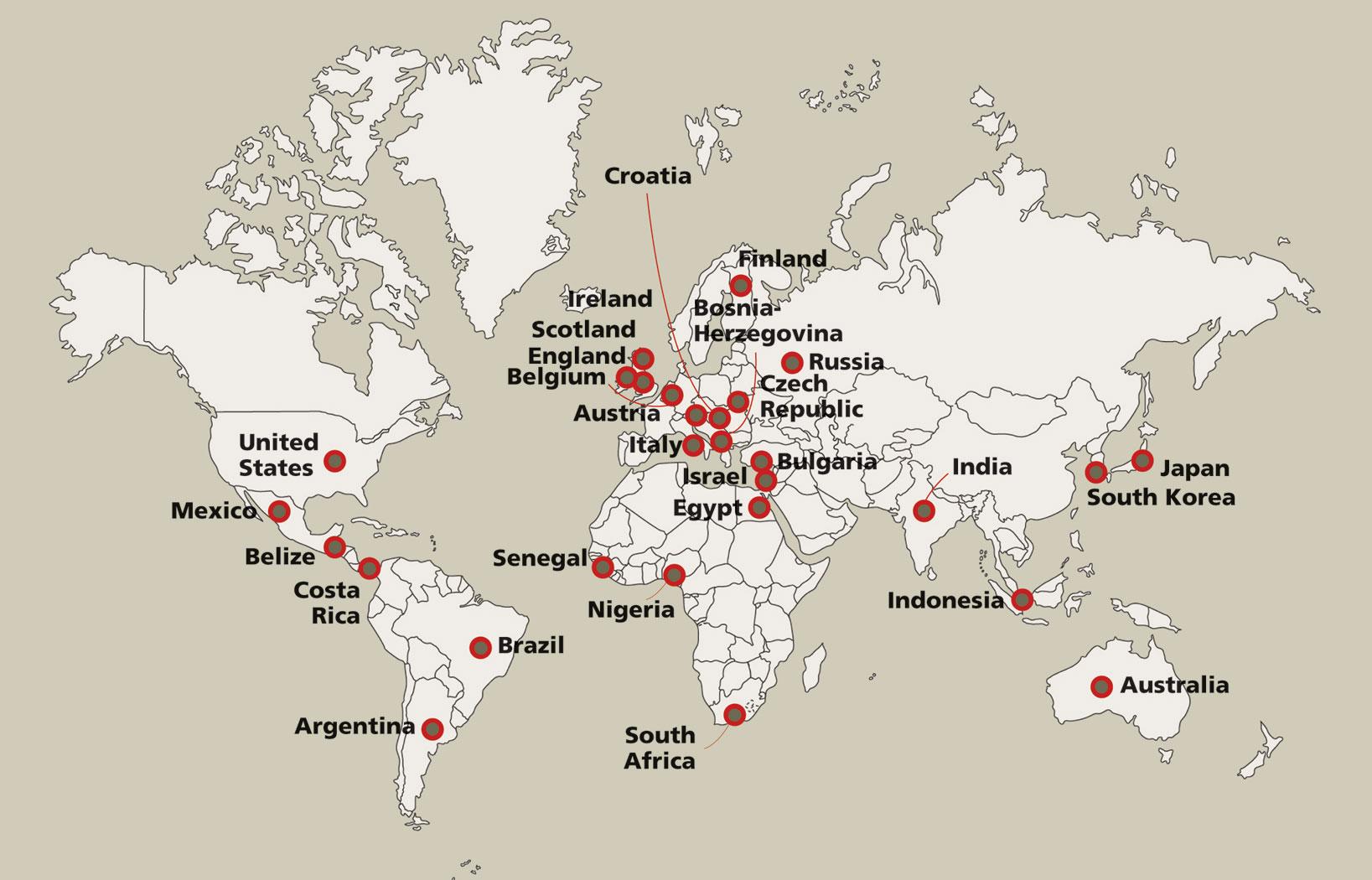 monsanto nel mondo