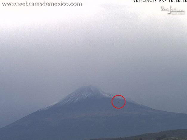 ufo vulcano